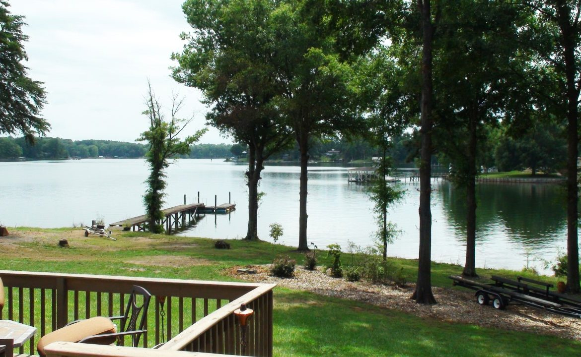 Lake Front Home For Sale Lake Norman Troutman Nc